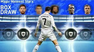 TRICK TO GET THUNDER BLACK BALL IN MAGIC MOMENT STARS BOX DRAW /PES 2019 MOBILE!!!