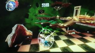Alice in Wonderland wii part 7 (upside down)