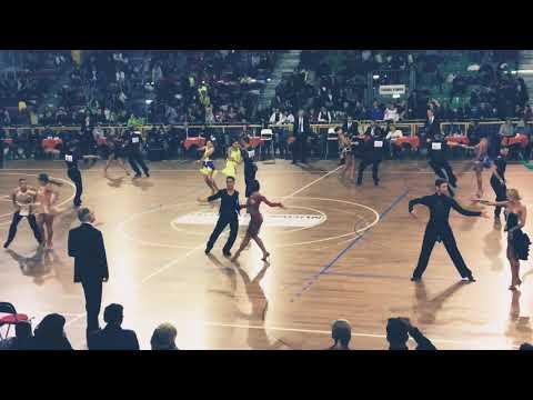 Milev - Sapienza, BUL | 2018 WDSF IO Latin Prato 4. Round J