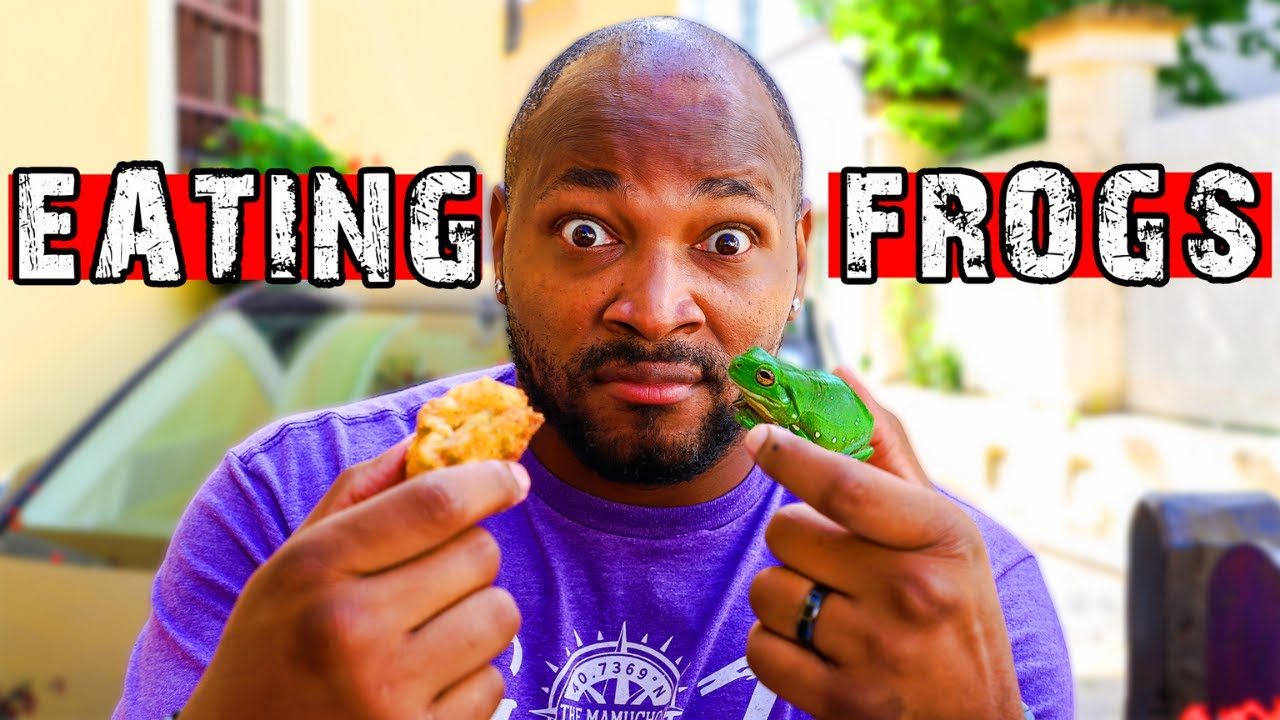 FOREIGNERS FIRST TIME EATING FROG | EATING STRUKLI AT A KONOBA | TRADITIONAL CROATIAN FOOD ZAGREB