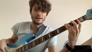Bass Guitar: G Major Scale #2 with Chris