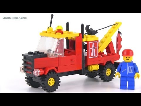 LEGO Classic Town 6674 Crane Truck from 1988!