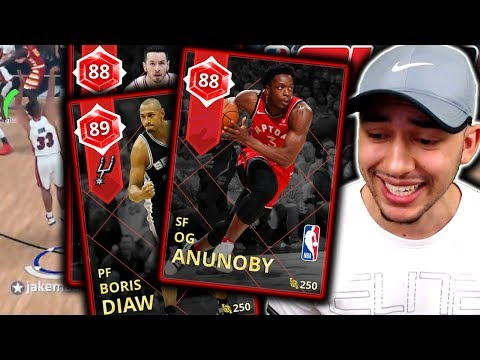 ALL RUBY SQUAD Ft. NEW DIAW + REDICK + ANUNOBY! ANOTHER GOD SQUAD! NBA 2K18 MyTeam