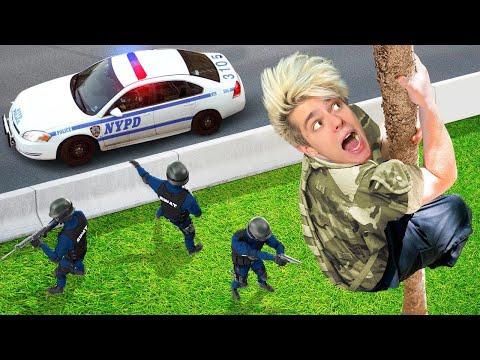 ЭКСТРЕМАЛЬНОЕ ОГРАБЛЕНИЕ ВОЕННОЙ БАЗЫ ! **Нас Арестовали ?**