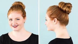 Videos The Perfect Messy Bun For Short Medium And Long Hair