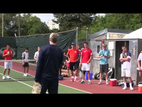 WAM Sports College Tennis Camp 2013 Ottawa, Canada