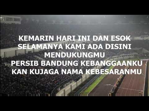 Bobotoh chant - kebangganku (lirik)