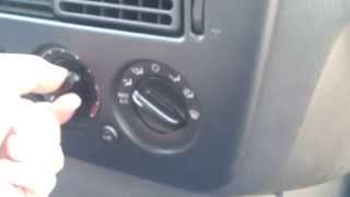 Repeat youtube video Simple how to fix blend door heater a/c actuator 2002 - 2008 ford explorer noise behind dashboard