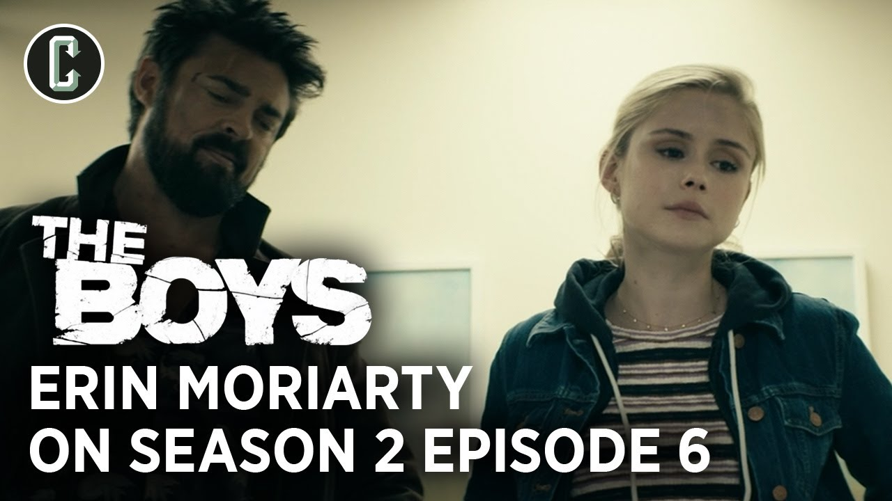 The Boys: Erin Moriarty Discusses THAT Scene on the Road in Episode 6