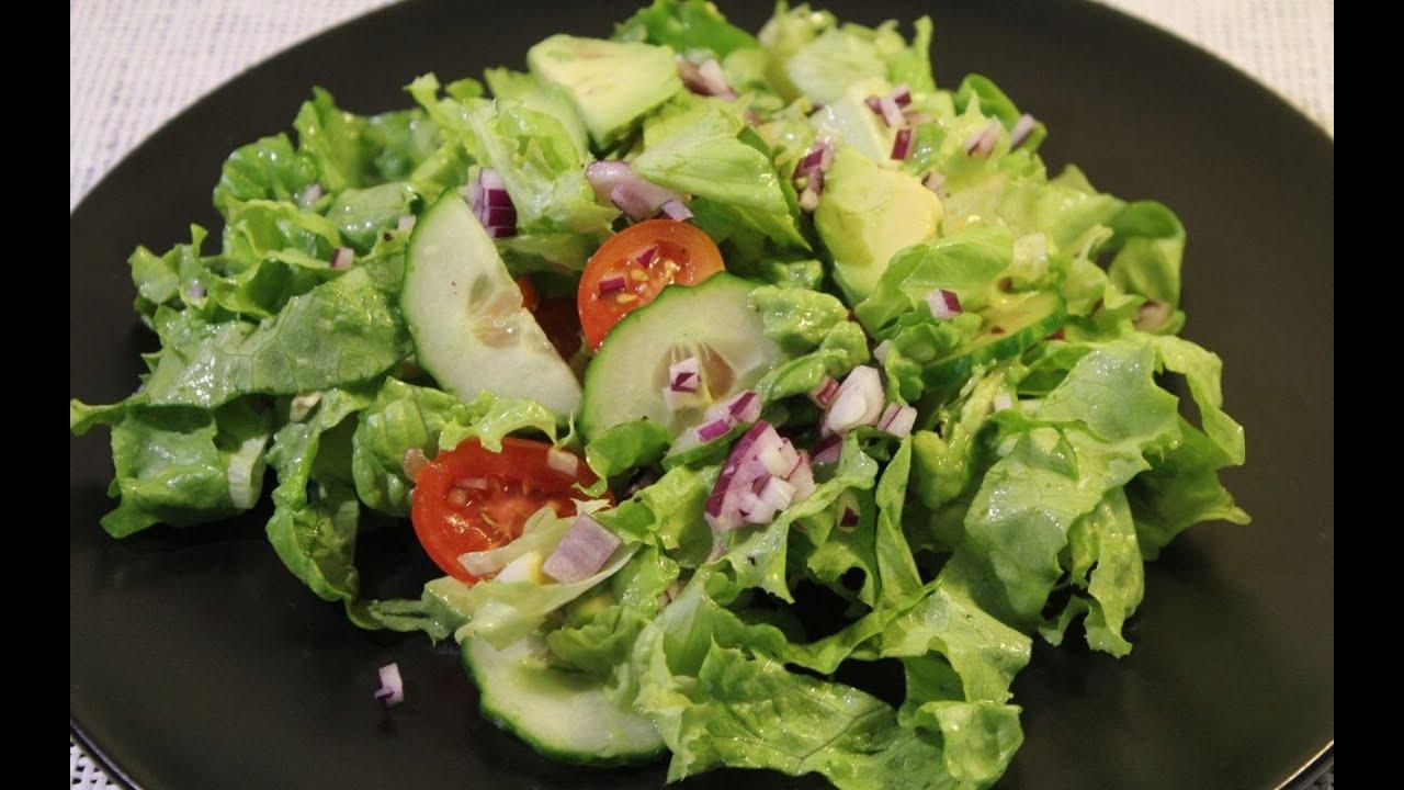Gruner salat avocado rezepte