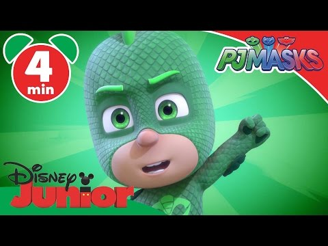 PJ Masks | The Missing Gekko-Mobile | Disney Junior UK