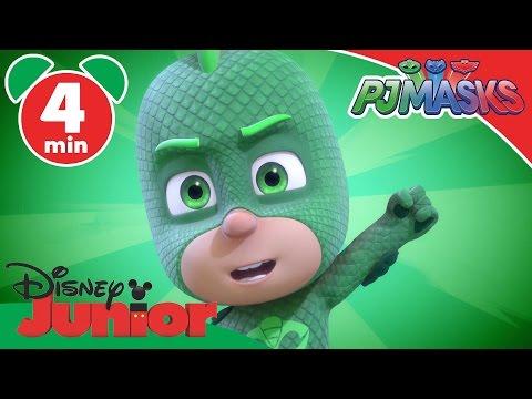 PJ Masks | The Missing Gekko-Mobile | Disney Junior UK