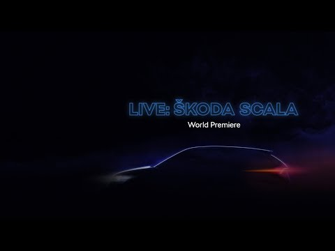 LIVE: ŠKODA SCALA World Premiere