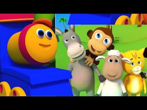 Bob der Zug | Wir gehen lied | Kinder Musik | Bob Train We Go Song | Kids Nursery Song & Rhyme