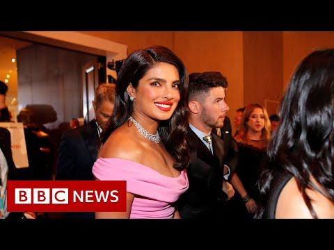 Priyanka Chopra Jonas locked down in London - BBC News