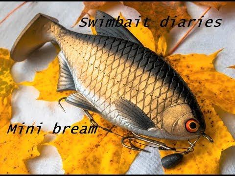 Swimbait diaries:  How I made my Mini bream paddle tail