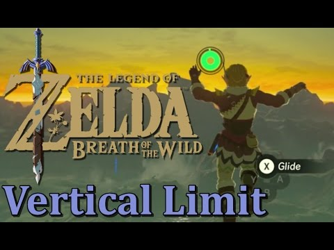 Reaching The Vertical Limit in Breath of the Wild (FLYING A ROCK)