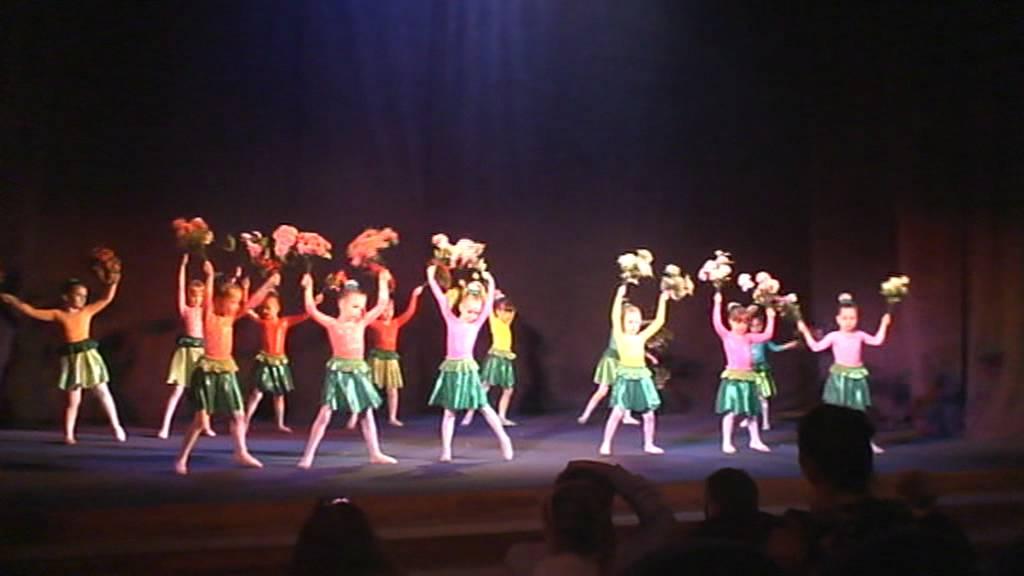 Полевые цветы танец