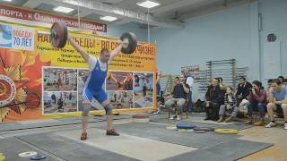 Сахаров Сергей рывок 127 кг, в.к. до 94 кг