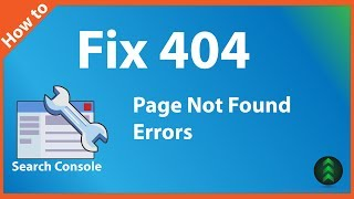 How to Fix 404 Errors in Google Search Console