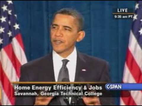 Pr. Obama at Savannah Tech (1) on Jobs and Economy
