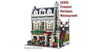 Lego Creator Review 10243 Parisian Restaurant