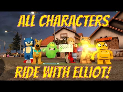 LEGO Dimensions All Characters Ride Elliot's Bike Basket (ET