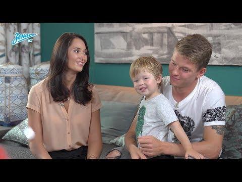 Zenit Family: Екатерина Смольникова в гостях у семьи Шатовых - видео онлайн