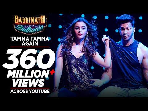 Tamma Tamma Again | Varun , Alia | Bappi L, Anuradha P | Tanishk, Badshah |  'Badrinath Ki Dulhania'