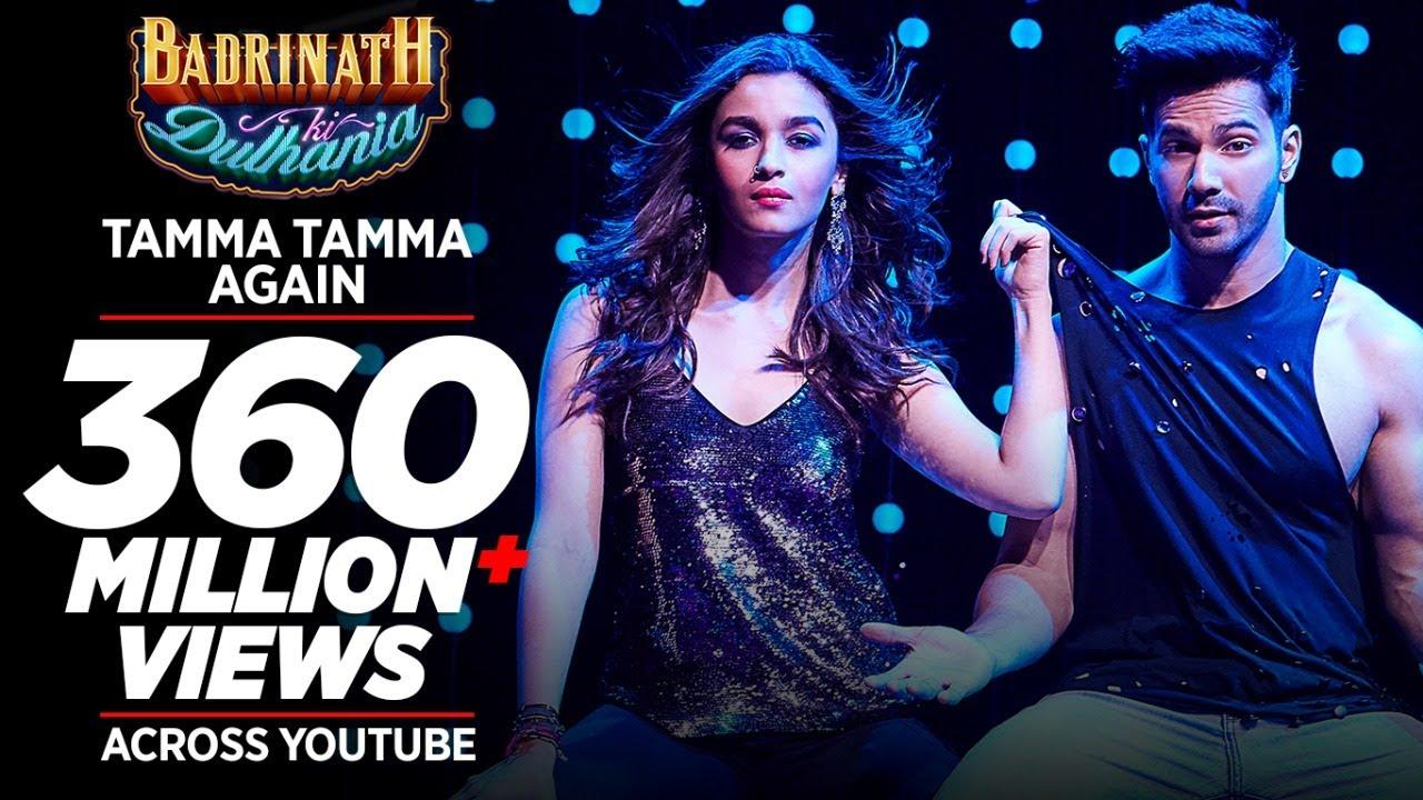 "Download Tamma Tamma Again | Varun , Alia | Bappi L, Anuradha P | Tanishk, Badshah |  ""Badrinath Ki Dulhania"""