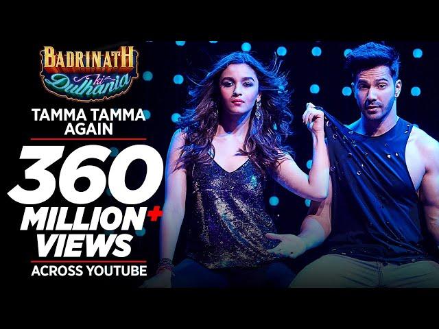 Tamma Tamma Again | Varun , Alia | Bappi L, Anuradha P | Tanishk, Badshah |