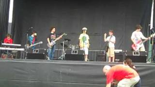 """Carry On Wayward Son"" by School of Rock house band, Brentapalooza, June 5, 2010"
