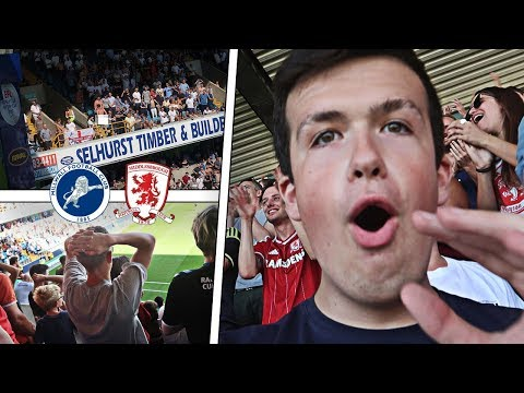 MILLWALL VS MIDDLESBROUGH - *97TH MIN* EQUALIZER