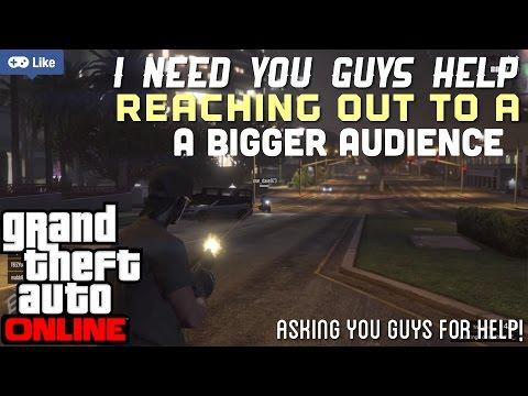"GTAV online"" Asking for you guys/girls HELP!? Live PS4 Broadcast"