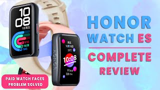 Honor Watch ES - Complete Review After 2 Month of Use | Paid Watch Faces Problem Fixed - 2021