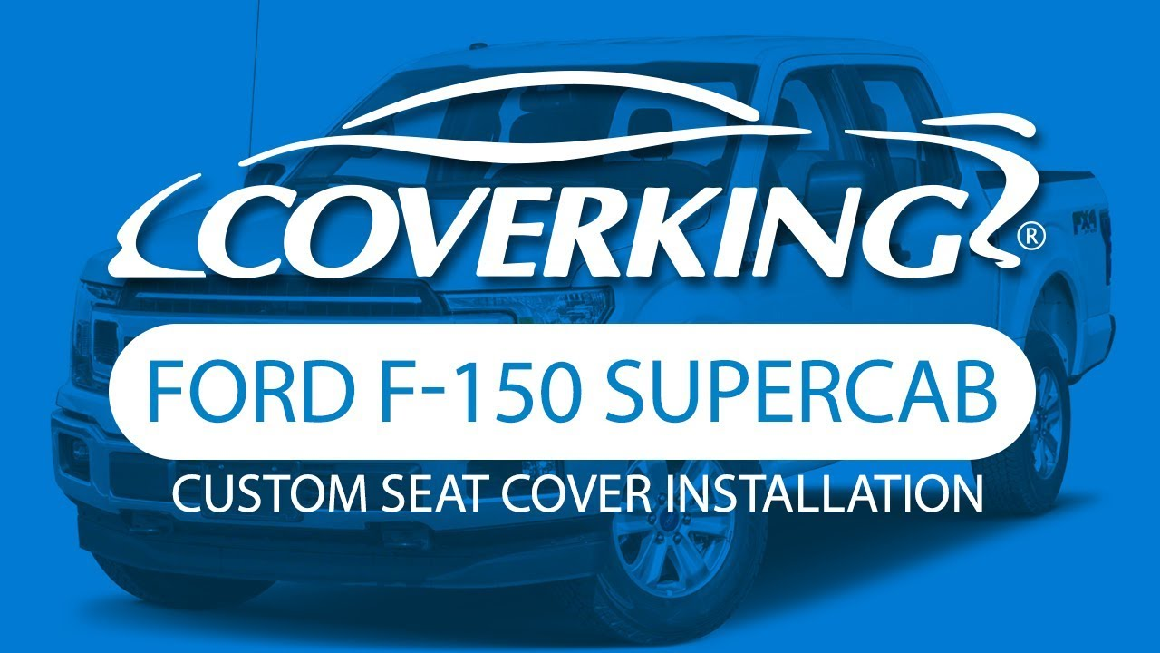 Coverking Neosupreme Front Custom Car Seat Cover For Ford 2015-2018 F-150
