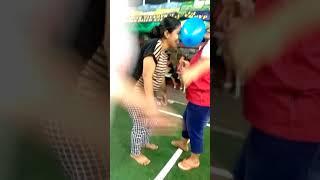 Lomba 17 Agustus Lomba Joget Balon Ibu Ibu Seru