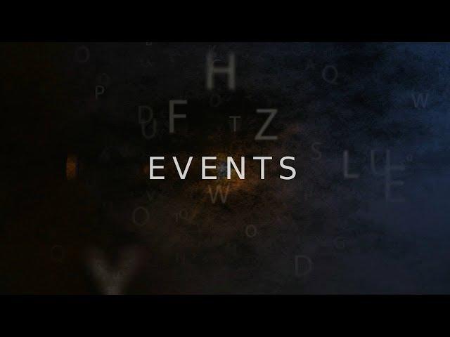 Events - Novembre