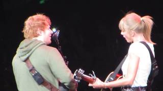 Everything Has Changed - Taylor Swift & Ed Sheeran / Staples Center / August 20, 2013