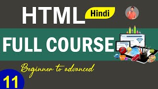 11- HTML | Color and Font Style | Tag And Attributes | Back-Ground Color setting in Hindi