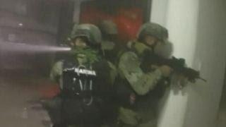 Video of intense firefight at 'El Chapo' Guzman's hideout