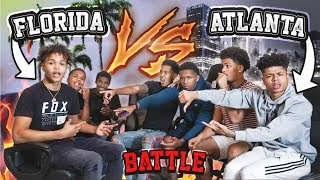 FLORIDA VS. ATLANTA YOUTUBER RAP SESSION!!! 🔥 FT. BJ GROOVY, CEYNOLIMIT, YRNDJ (WHO WON?) 👀