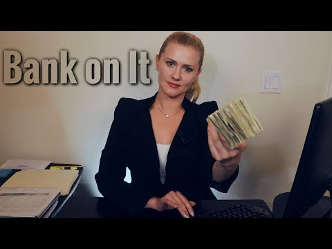💸 Bank On It 💸 ASMR • Paper • Keyboard • Inaudible •