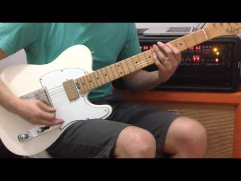 EASY LOVER PHIL COLLINS GUITAR COVER ANDY30