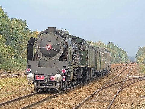 Diesel BB 67604 au secours de la vapeur 231 K8 - [de Paris à Calais]
