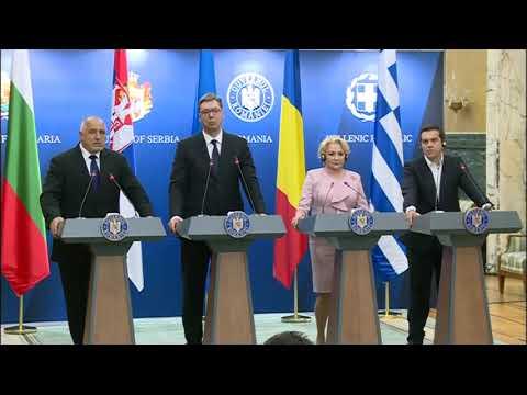 България, Румъния, Гърция и Сърбия обсъдиха конкретни проекти за развитието на Балканите по време на Съвета за сътрудничество на високо равнище, който се проведе в Букурещ.
