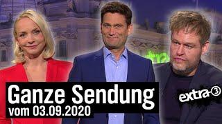 Extra 3 vom 03.09.2020 mit Christian Ehring