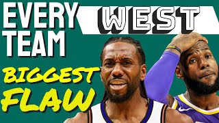 Lakers one REAL problem - EVERY Western Conference team!!