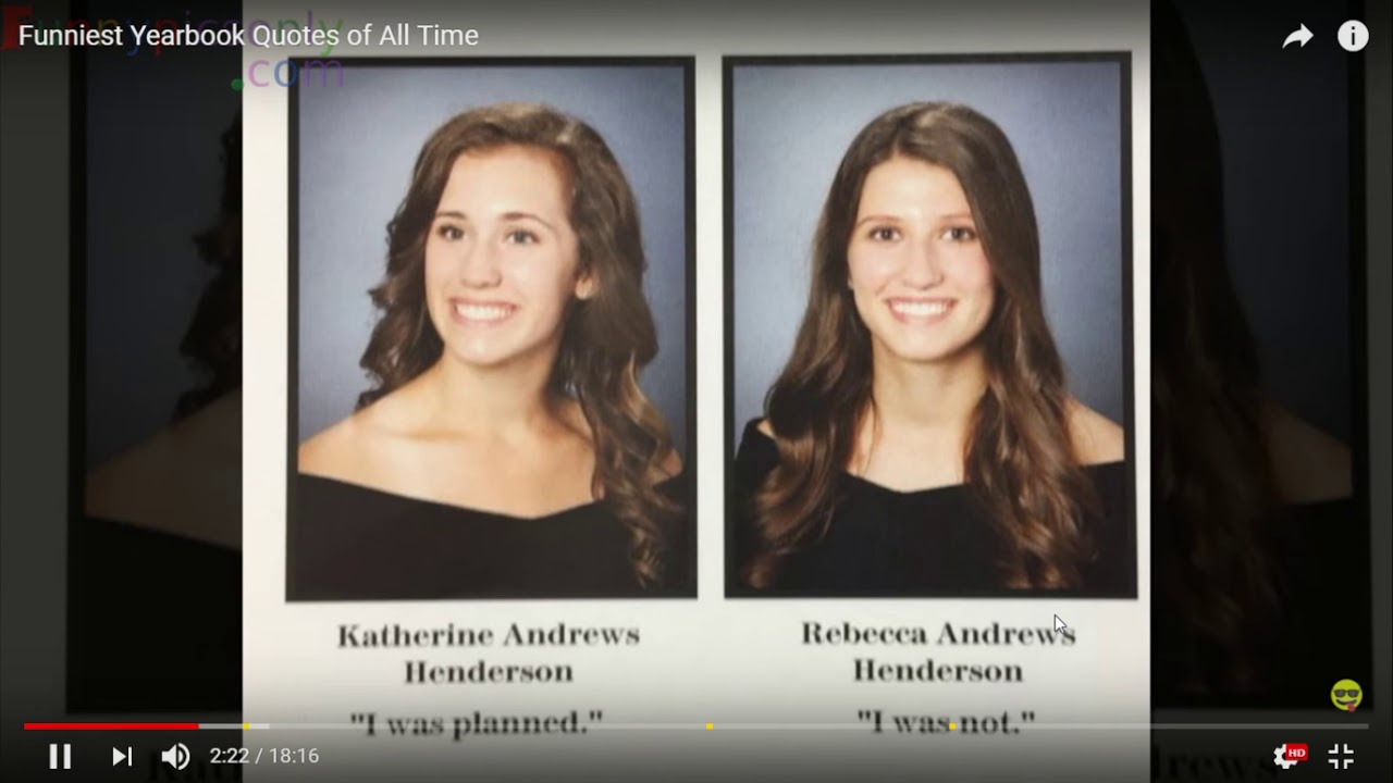 Funny Yearbook Names: Funniest Yearbook Names Reaction