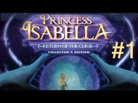 Принцесса Изабелла. Проклятие ведьмы. Прохождение - синий ключ